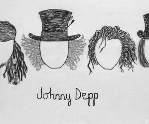 captain jack sparrow, Willy Wonka, and madhatter image