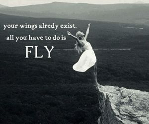b&w, dress, and fly image