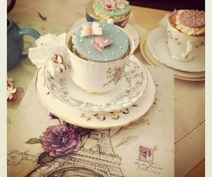 vintage, cup, and cute image