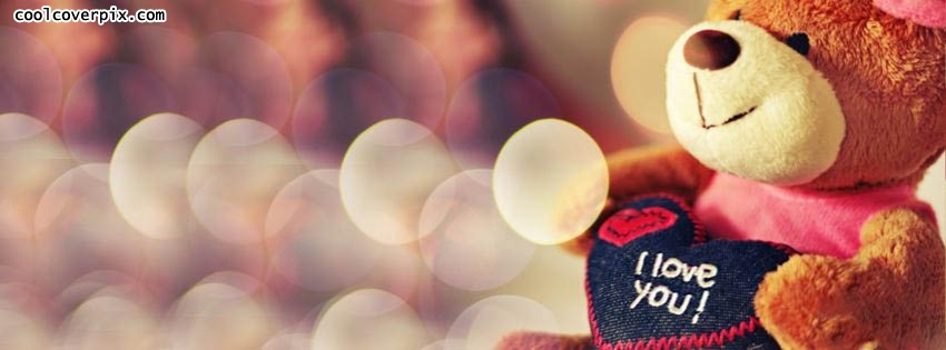 Cute Teddy Bear Facebook Cover Photo Fb On We Heart It