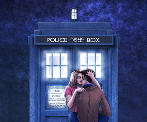 doctor who, forever, and night image