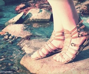 shoes and water image