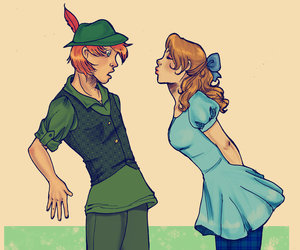 fairytale, love, and peter pan image