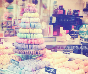 candy, macaron, and candy color image