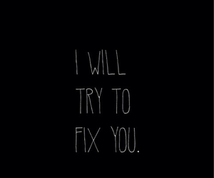 coldplay, music, and fix you image
