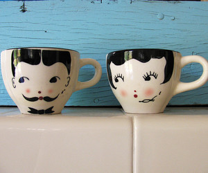 fun, kitchen, and mugs image