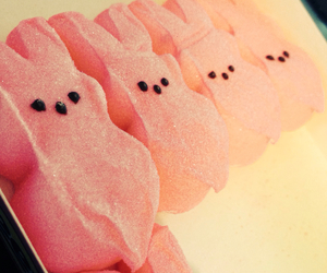 easter, peeps, and yum image