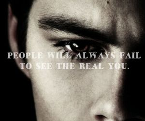 beautiful, dark, and quotes image