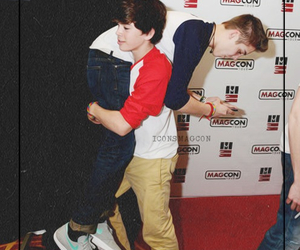 hayes grier, matthew espinosa, and magcon image