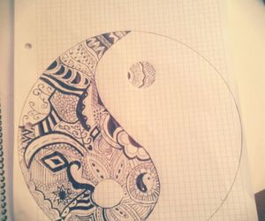 art, drawing, and feelings image