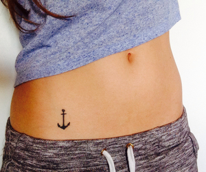 anchor, belly, and skinny image