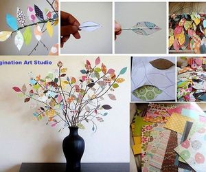 diy, leaves, and decoration image