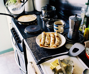 breakfast, food, and kitchen image