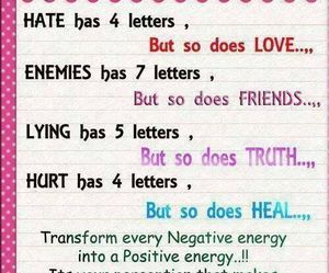 quote, hate, and enemies image