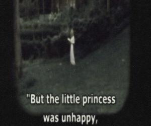 sad, unhappy, and princess image