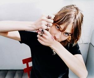 alexa chung, rings, and model image