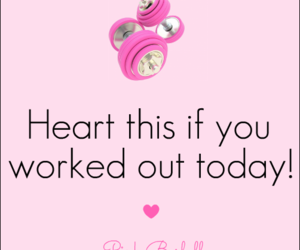 gym, workout, and love image