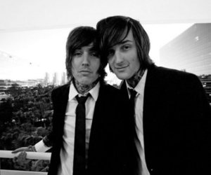 oli sykes, mitch lucker, and love image