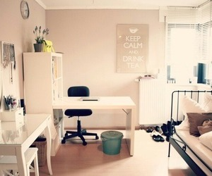 bedroom, dorm, and inspiration image