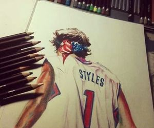 <3, harry style, and dibujo image