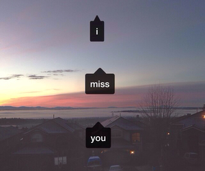 love, miss, and quotes image