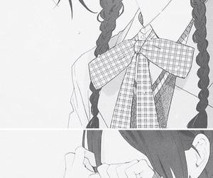 manga, cry, and sad image