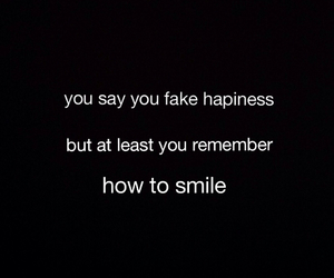 cry, depressed, and fake smile image