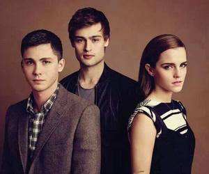 logan lerman, emma watson, and douglas booth image