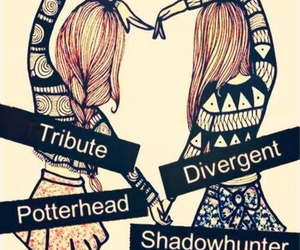 divergent, potterhead, and shadowhunter image