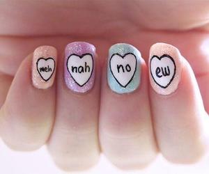 nails, nah, and no image