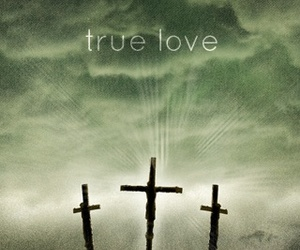 jesus, true love, and love image