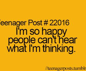 happy, teenager post, and funny image