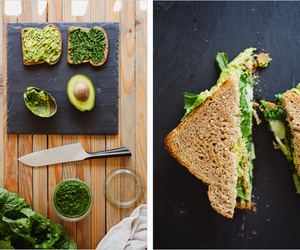 avocado and sandwich image