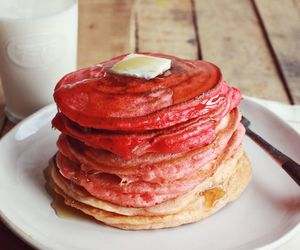 ombre, pancakes, and ricotta image