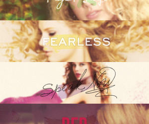 albums, taylor swift albums, and fearless image