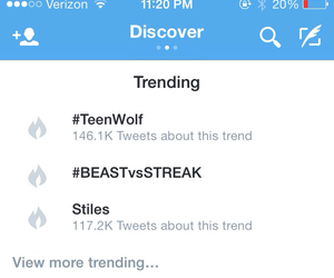 Finale, teen wolf, and stiles image
