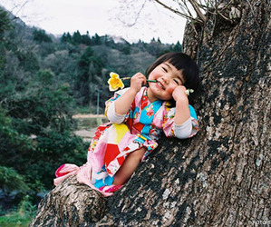 cute, child, and happy image