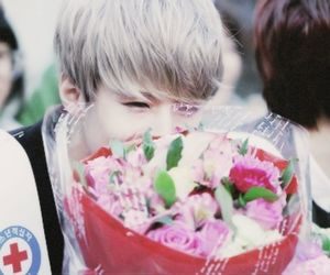 exo, flowers, and kpop image