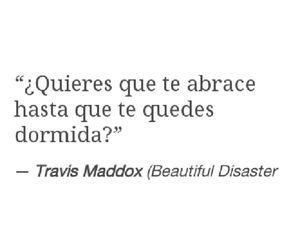 books, beautiful disaster, and travis maddox image