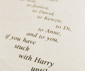 deathly hallows, dedication, and harry potter image