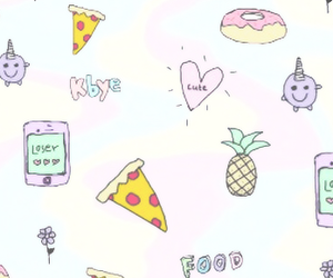 food, pizza, and cute image