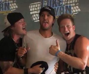 luke bryan, tyler hubbard, and brain kelly image