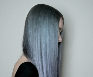 blue hair, hipster, and longhair image