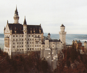 castle and house image