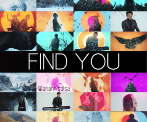music video, find you, and zedd image