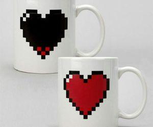 gift, heart, and mug image