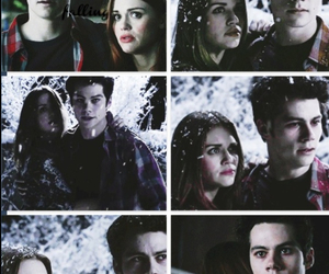couple, lydia, and snow image