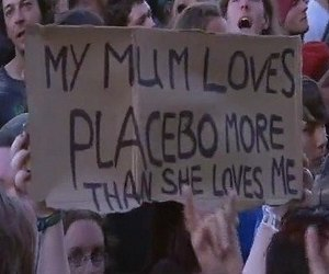 Placebo, love, and concert image
