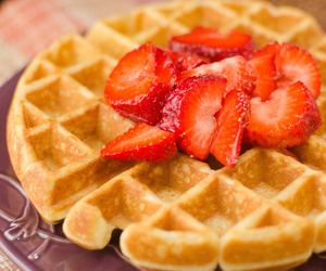 breakfast, waffles, and Cinnamon image