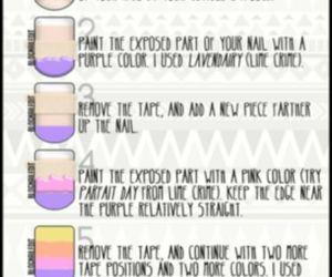colorful, diy, and nails image
